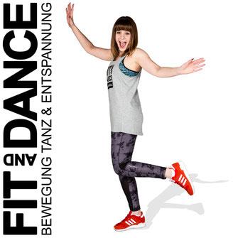 FitandDance by Lara Höll Fit@home Onlinekurse zumba dancefit fitness