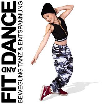 FitandDance by Lara Höll Fit@home Onlinekurse HipHop Dance Kids Teens Streetdance Strausberg