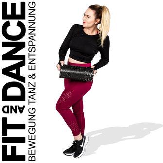 FitandDance by Lara Höll Fit@home Onlinekurse Faszien Faszienrolle Strausberg Fitness Sport