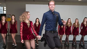 Performance Truppe der O'Kelly Irish Dance Academy präsentiert IRISH DANCE PASSION