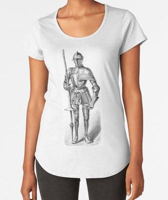 T-Shirt, hoodies, hoodys, knight, ritter, halberd, medieval, Mittelalter, middle ages, knight, german, europe, pole arm, Stangenwaffe, Feldschlacht, Krieg, Feldzug, battle