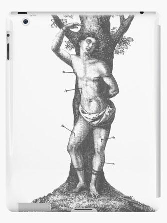 iPad-Hüllen & Skins Märtyrer Heilige Sebastian, St. Sebastian martyr