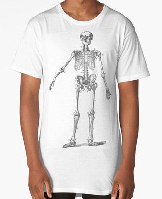 t-shirt, hoodies, hoody, Totenkopf, skull, death's-head, Skelett, skeleton, carcass, head, Kopf, medizin, anatomie, anatomy, human, Menschenkopf, Mensch