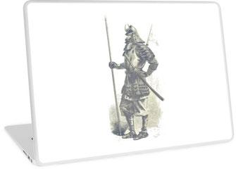 Laptop Skins, iphone, ipad, samsung mobil, handy, cover, Samurai, Kaiser, Japan, Asien, Kriegerkaste, Krieger, Schwertkampf, Samuraischwert, Bushido, Ashigaru, Ronin, sword, battle, ninja, turtle, sword, brave, warrior