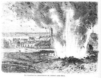 Die Wiener Pulverturmexplosion von 1779