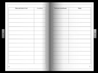 Findbook - Condition and coordinates