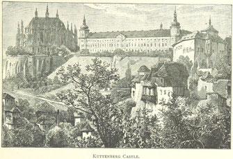 Historische Ansicht Kuttenberg