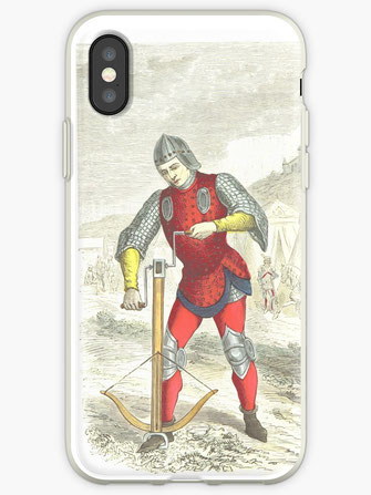 iPhone-Hüllen & Cover, ipad, samsung cover, mobil, Armbrust, crossbow, Ritterrüstung, amor, knight, sword, schwert, Adel, Mittelalter, medieval, middle ages, king, imperator, könig, kaiser, Deutschland, Germany