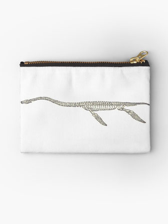 Dinosaurier-Skelett Studio Clutches dinosaur skeleton