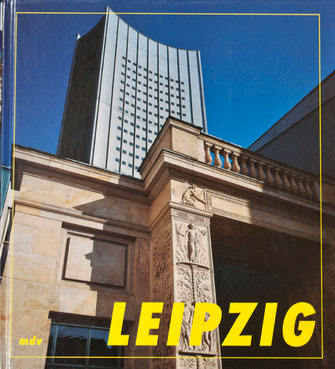 Illustrated book about the city Leipzig