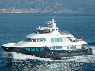 Yacht Photography luxus yacht Bandido