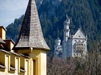 Bavarijos pilys Neuschwanstein ir Hohenschwangau