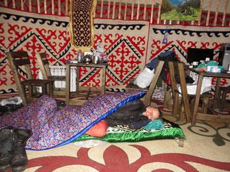 Kazachstano egzotika prasideda Almatoje - Talgaro tarpeklis ir Staso jurta