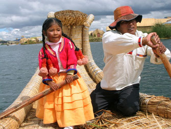 Titikakos ežere Peru gyvena urų ir aimarų gentys