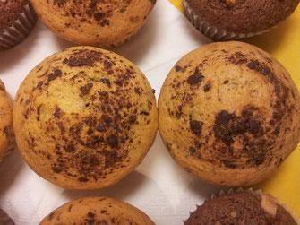 Helle mit Schokostücke Muffins