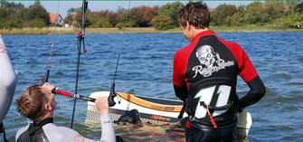 Rügen Piraten Kiten Kurse