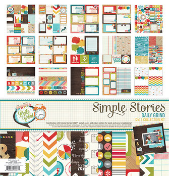 UK stockist Simple Stories Daily Grind