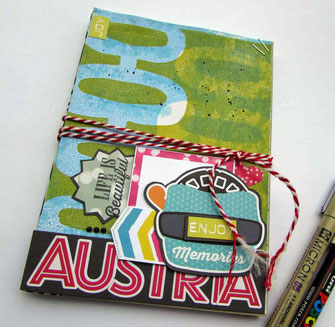 Projects to Try: Travel Sketch Book
