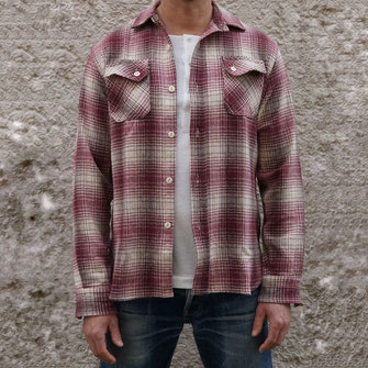 3SIXTEEN BRUSHED FLANNEL