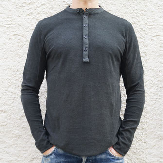 ROETHER SHIRT FROTTEE BLACK