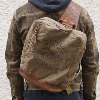 CAMPOMAGGI BACKPACK CANVAS