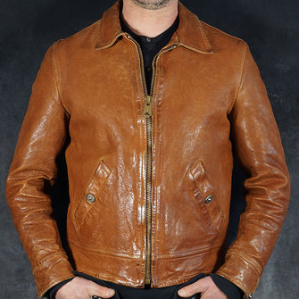 THEDI LEATHERS COGNAC