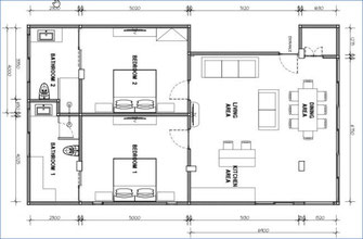 Floorplan Canggu apartment for sale by owner