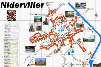 Plan de Niderviller