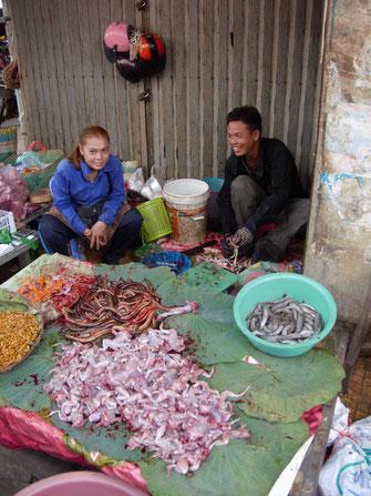 Frösche, Schlangen und viel mehr... Battambang, Kambodscha (Fotos Jörg Schwarz)