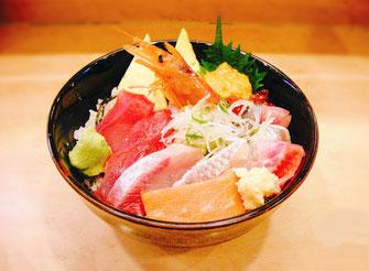 回転寿司ぎょしん、季節の魚丼/海鮮丼