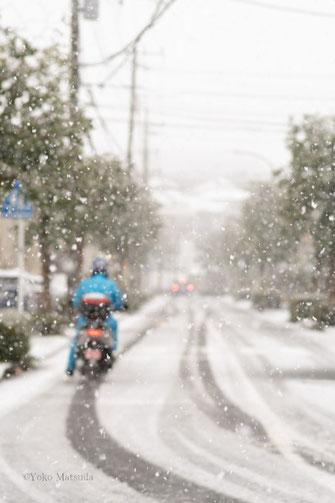写真教室横浜 雪の日