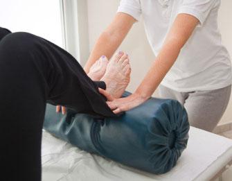 PNF Fuß-Massage
