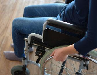PNF Rollstuhl