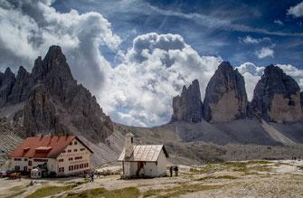 Foto: Dreizinnenhütte (Quelle: pixabay)