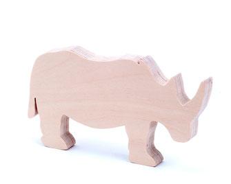 Nashorn aus der Serie Animals