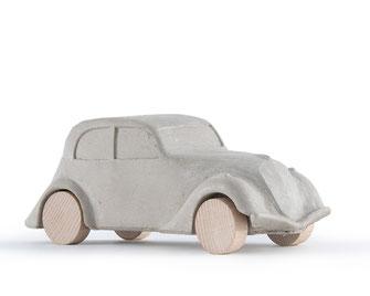 Auto aus Beton - Link zu Allerlei