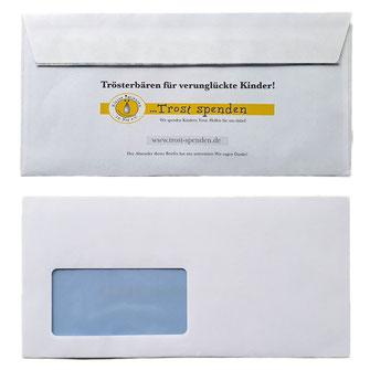 Benefiz Briefumschläge Office Paket 1