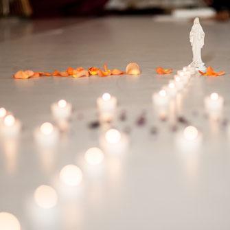cacao sacred altar mother mary candles sacred cacao facilitator training berlin cacao mama earth school