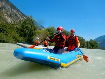 Rafting Kombi Anfänger Fortgeschritten Extrem