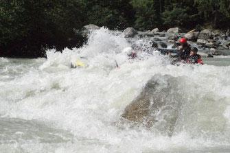 Rafting Tirol Ötztal Ache Imster Schlucht