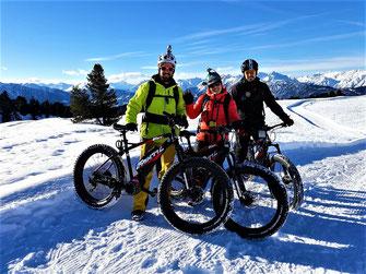 Bike im Schnee