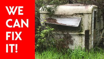 Old Caravan - We can fix it!