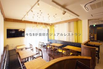 カジュアルアメリカンレストラン BB'S。 Osaka 2014.02