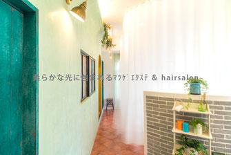 beauty salon boudoir     ビューティーサロン ブードワール   Osaka 2013.07