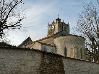 Église de Saint Savinien sur Charente