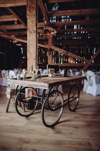 Hochzeitstorte Feldscheune Schöbendorf