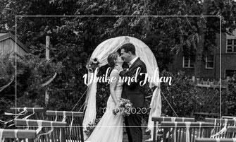 Hochzeitsfotograf Berlin Brautpaar Gartenhochzeit