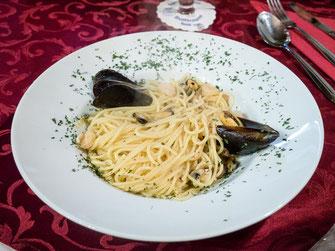 Spaghetti di Mare Ciao Sicilia Spalt Restaurant