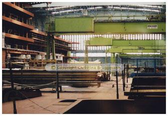 """BRILLIANCE OF THE SEAS"" im Baudock 1  07.2001"