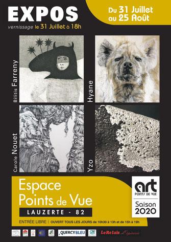 Exposition Art Points de Vue août 2020